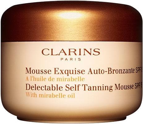 clarins self tanning mousse